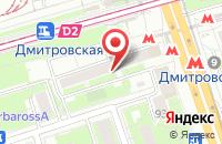Схема проезда до компании Торгсервис в Москве