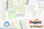 Схема проезда до компании Color Brint в Москве
