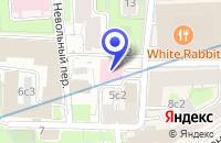 Схема проезда до компании АРХИТЕКТУРНОЕ БЮРО БОРОДАВЧЕНКО И ГОНЧАРОВА в Москве