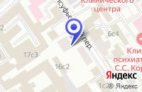 Схема проезда до компании АВАРИЙНАЯ СЛУЖБА АВАКОН-ХАМОВНИКИ в Москве