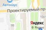 Схема проезда до компании Владыкино в Москве