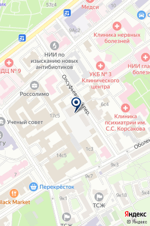 АВАРИЙНАЯ СЛУЖБА АВАКОН-ХАМОВНИКИ на карте Москвы