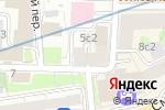 Схема проезда до компании ArbatGuitar в Москве