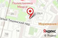 Схема проезда до компании Корсо Проприо в Москве