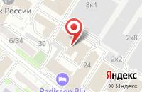 Схема проезда до компании Клипс Студио в Москве