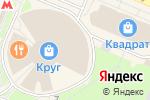 Схема проезда до компании Магазин сладостей в Москве