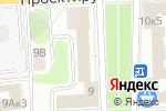Схема проезда до компании Связьстрой в Москве