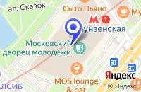 Схема проезда до компании КИНОСТУДИЯ ГРАНФИЛЬМ в Москве