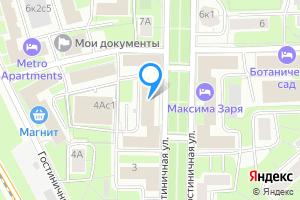 Снять однокомнатную квартиру в Москве Гостиничная ул., 5