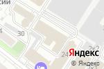Схема проезда до компании АйБи-Консалт в Москве