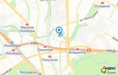 Местоположение на карте пункта техосмотра по адресу г Москва, проезд Нововладыкинский, д 2 стр 2