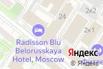 Схема проезда до компании Популярная пресса в Москве