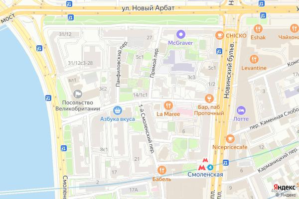 Ремонт телевизоров Проточный переулок на яндекс карте