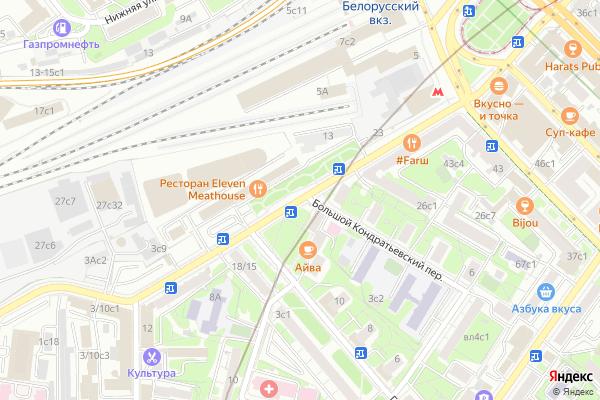 Ремонт телевизоров Улица Грузинский Вал на яндекс карте