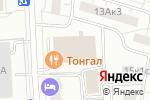 Схема проезда до компании Дизайнлюкс в Москве