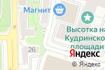 Схема проезда до компании Bridge fit в Москве