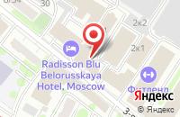 Схема проезда до компании Бюро Переводов Глобал-Лингва в Москве
