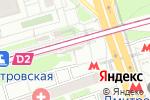Схема проезда до компании Крошка Картошка в Москве