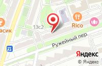 Схема проезда до компании Сэт Сервис в Москве