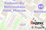 Схема проезда до компании Кухня №1 в Москве