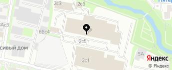 Аксис на карте Москвы