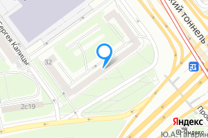 Сдается двухкомнатная квартира в Москве Ленинский пр-кт 32
