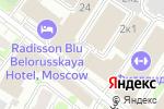 Схема проезда до компании Гевар Групп в Москве