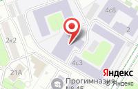 Схема проезда до компании Армелла в Москве