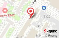 Схема проезда до компании РЭД Эдженси в Москве