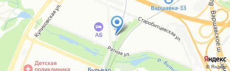 Mr.Burger на карте Москвы