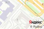 Схема проезда до компании ПОЖБЕЗОПАСНОСТЬ в Москве