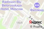 Схема проезда до компании Салатовое кафе в Москве