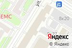 Схема проезда до компании Нордеа банк в Москве
