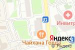 Схема проезда до компании Юридические услуги для бизнеса в Москве