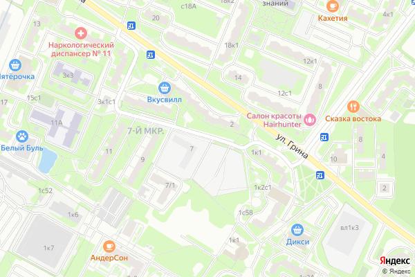Ремонт телевизоров Улица Феодосийская на яндекс карте
