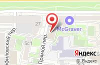 Схема проезда до компании Технология Права в Москве