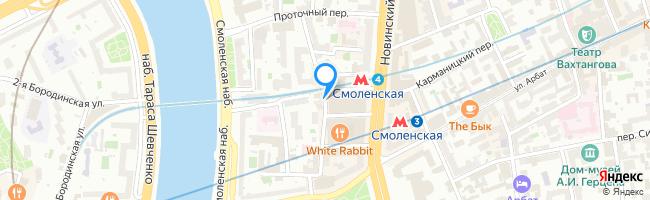 переулок Смоленский 1-й