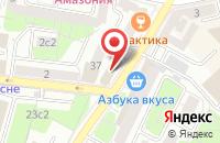 Схема проезда до компании ЭлитКомпани в Москве