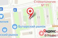 Схема проезда до компании Лукас в Москве