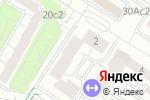 Схема проезда до компании Dental Dream в Москве