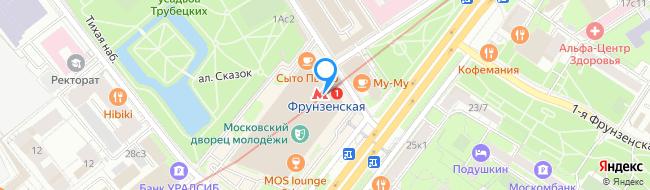 метро Фрунзенская