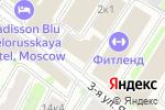 Схема проезда до компании Мода & Красота в Москве