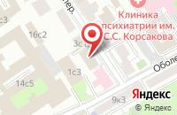 Схема проезда до компании Азаро в Москве