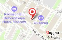 Схема проезда до компании Сельхозинвест в Москве