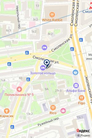 ФИТНЕС-ЦЕНТР на карте Москвы