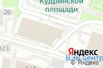 Схема проезда до компании Ketione в Москве