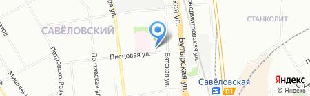 Вятка на карте Москвы