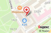 Схема проезда до компании Нортик в Москве