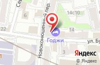 Схема проезда до компании Медсервис в Москве