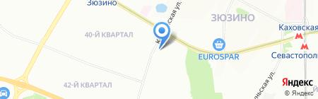 Кутаиси на карте Москвы